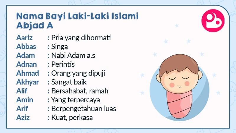 nama bayi laki-laki islami - huruf a